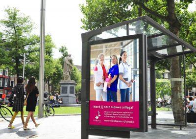 Opzetten wervingscampagne zorgmedewerkers Utrecht