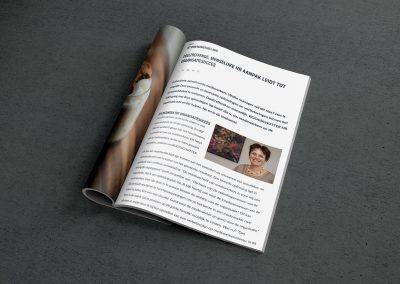 Een aantrekkelijk artikel in een vakblad