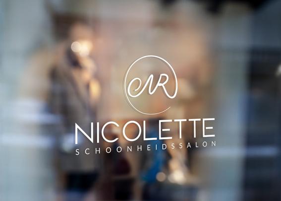 Een nieuw logo voor schoonheidssalon Nicolette