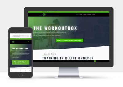 Knallende nieuwe website voor The WorkOutBox
