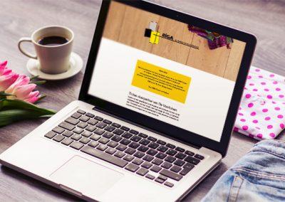 Mailchimp nieuwsbrief voor RIGA vloeren en kozijnen