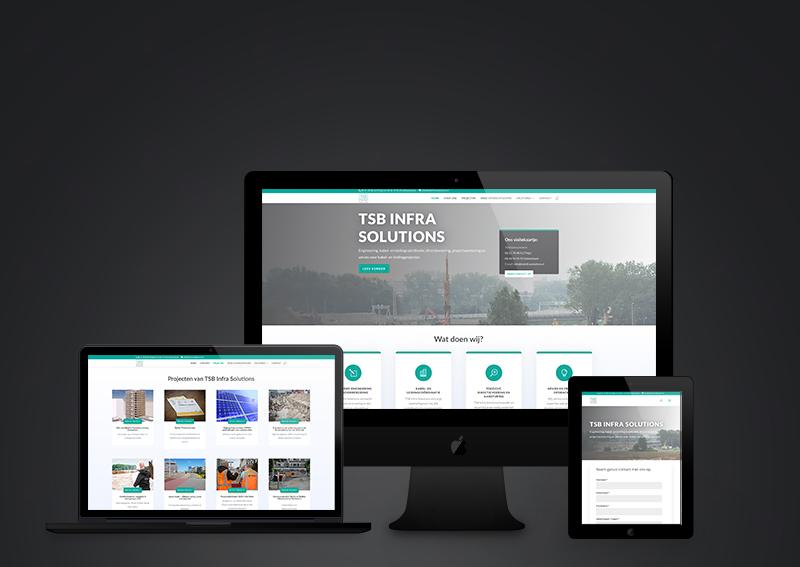 Nieuwe website voor TSB Infra Solutions