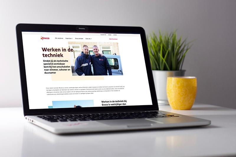 expertisepagina techniek werkenbij website Eneco