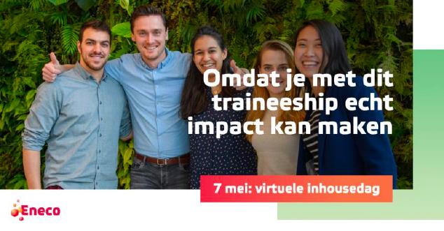 LinkedIn bericht werving trainees