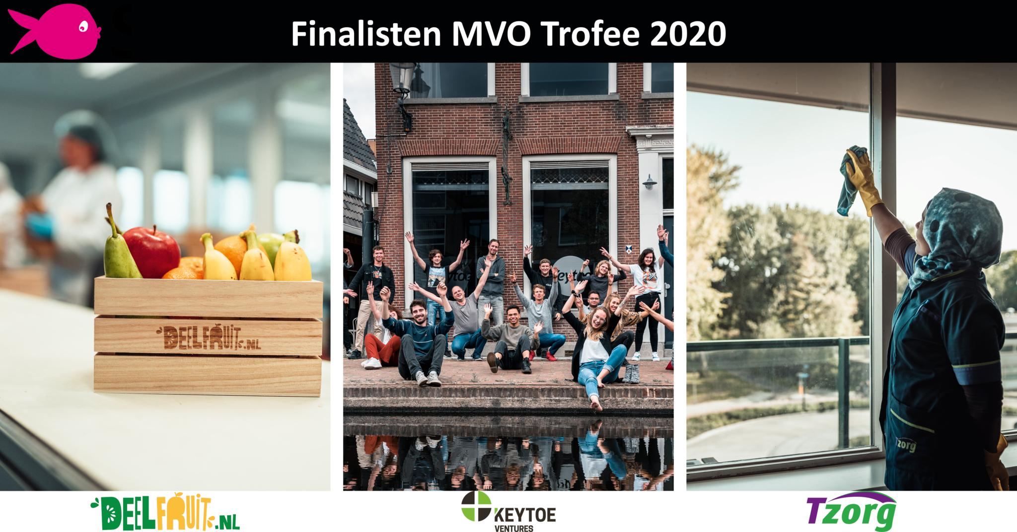Finalisten MVO Trofee