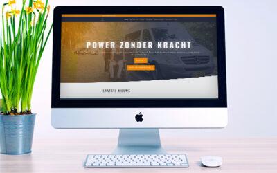 Nieuwe donatiewebsite voor Stichting Power Zonder Kracht