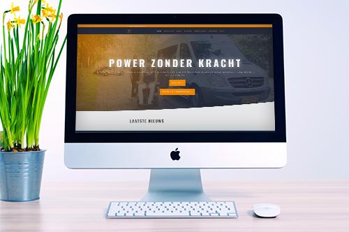 Website Stichting Power Zonder Kracht | Estagram
